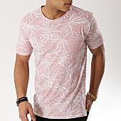/achat-t-shirts-poche/mtx-tee-shirt-poche-f1018-rose-clair-floral-169699.html