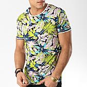 /achat-t-shirts/mtx-tee-shirt-f1003-bleu-marine-floral-rose-169705.html
