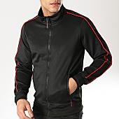 /achat-vestes/mtx-veste-zippee-a-bandes-xs808-noir-rouge-169715.html