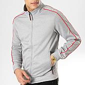 /achat-vestes/mtx-veste-zippee-a-bandes-xs808-gris-chine-rouge-169718.html