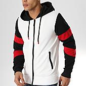 /achat-sweats-zippes-capuche/mtx-sweat-capuche-zippe-xs801-blanc-noir-rouge-169780.html