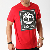 /achat-t-shirts/timberland-tee-shirt-stack-logo-a1oa2-rouge-169557.html