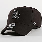 /achat-casquettes-de-baseball/47-brand-casquette-los-angeles-dodgers-mvp-mvpsp12wbp-noir-169794.html
