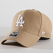 /achat-casquettes-de-baseball/47-brand-casquette-los-angeles-dodgers-mvp-mvpsp12wbp-beige-169795.html