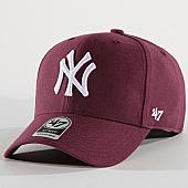 /achat-casquettes-de-baseball/47-brand-casquette-new-york-yankees-mvp-mvpsp17wbp-prune-169798.html