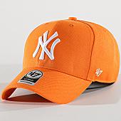 /achat-casquettes-de-baseball/47-brand-casquette-new-york-yankees-mvp-mvpsp17wbp-orange-169799.html