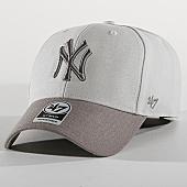 /achat-casquettes-de-baseball/47-brand-casquette-new-york-yankees-mvp--mvptt17wbv-gris-169809.html
