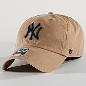 /achat-casquettes-de-baseball/47-brand-casquette-new-york-yankees-clean-up-rgw17gws-beige-169811.html