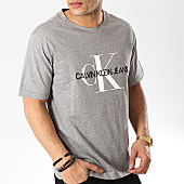 /achat-t-shirts/calvin-klein-tee-shirt-monogram-embroidery-1293-gris-chine-169986.html