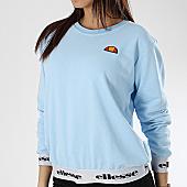 /achat-sweats-col-rond-crewneck/ellesse-sweat-crewneck-femme-1076n-bleu-clair-169931.html