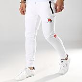 /achat-pantalons-joggings/ellesse-pantalon-jogging-rayure-1034n-blanc-169966.html