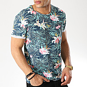 /achat-t-shirts/mtx-tee-shirt-f1020-bleu-marine-vert-floral-169813.html