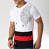 /achat-t-shirts-capuche/mtx-tee-shirt-capuche-strass-fx258-blanc-noir-rouge-169842.html