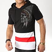 /achat-t-shirts-capuche/mtx-tee-shirt-capuche-strass-fx258-noir-blanc-rouge-169843.html