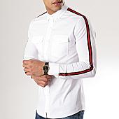 /achat-chemises-manches-longues/mtx-chemise-manches-longues-a-bandes-cz318-blanc-169847.html