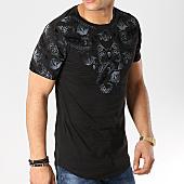 /achat-t-shirts-longs-oversize/mtx-tee-shirt-oversize-bandana-fx187-noir-169866.html