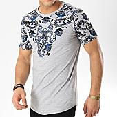 /achat-t-shirts-longs-oversize/mtx-tee-shirt-oversize-bandana-fx187-gris-chine-bleu-marine-169868.html