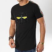 /achat-t-shirts-longs-oversize/mtx-tee-shirt-oversize-a-bandes-fx235-noir-169915.html