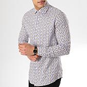 /achat-chemises-manches-longues/mtx-chemise-manches-longues-s7189-blanc-bleu-beige-169958.html
