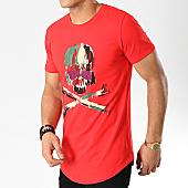 /achat-t-shirts-longs-oversize/mtx-tee-shirt-oversize-m1801-rouge-strass-169977.html