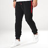 /achat-pantalons-joggings/mtx-pantalon-jogging-a-bandes-xsp802-noir-rouge-169980.html