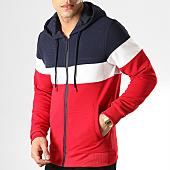 /achat-sweats-zippes-capuche/mtx-sweat-capuche-zippe-xs803-bleu-marine-blanc-rouge-169987.html