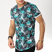 /achat-t-shirts-longs-oversize/mtx-tee-shirt-oversize-floral-f1002-vert-blanc-169995.html