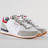 /achat-baskets-basses/pepe-jeans-baskets-tinker-basic-nylon-pms30505-801-white-169797.html
