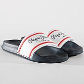 /achat-claquettes-sandales/pepe-jeans-claquettes-slider-classic-pms70070-bleu-marine-blanc-169805.html