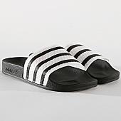 /achat-claquettes-sandales/adidas-claquettes-femme-adilette-cg6256-noir-blanc-170165.html