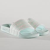 /achat-claquettes-sandales/adidas-claquettes-femme-adilette-cg6257-bleu-turquoise-blanc-170169.html