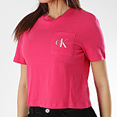 /achat-t-shirts/calvin-klein-tee-shirt-poche-crop-femme-monogram-9736-rose-170039.html
