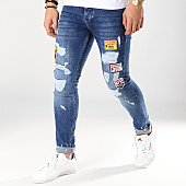 /achat-jeans/classic-series-jean-skinny-patchs-brodes-daisy-bleu-denim-170247.html