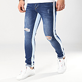 /achat-jeans/classic-series-jean-skinny-avec-bandes-rafale-bleu-denim-170261.html