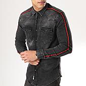 /achat-chemises-manches-longues/classic-series-chemise-manches-longues-avec-bandes-5111-gris-anthracite-170284.html