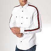 /achat-chemises-manches-longues/classic-series-chemise-manches-longues-avec-bandes-5111-blanc-170287.html