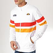 /achat-vestes/ellesse-veste-zippee-rayures-1035n-blanc-rouge-orange-170096.html