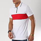 /achat-polos-manches-courtes/frilivin-polo-manches-courtes-ap7056-blanc-rouge-170153.html