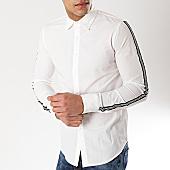 /achat-chemises-manches-longues/frilivin-chemise-manches-longues-avec-bandes-bm1071-blanc-170246.html