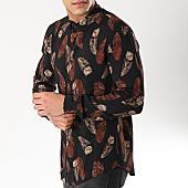 /achat-chemises-manches-longues/frilivin-chemise-manches-longues-68281-noir-floral-170295.html