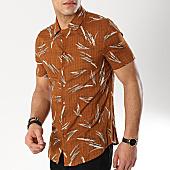 /achat-chemises-manches-courtes/frilivin-chemise-manches-courtes-bm1043b-marron-floral-170307.html