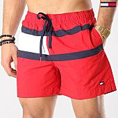 /achat-maillots-de-bain/tommy-hilfiger-jeans-short-de-bain-medium-drawstring-1070-rouge-170030.html