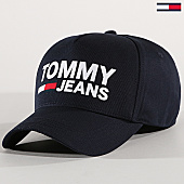/achat-casquettes-de-baseball/tommy-hilfiger-jeans-casquette-flock-4676-bleu-marine-170217.html