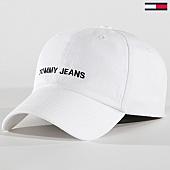/achat-casquettes-de-baseball/tommy-hilfiger-jeans-casquette-sport-0584-blanc-170223.html
