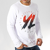 /achat-sweats-col-rond-crewneck/yl-sweat-crewneck-logo-degrade-blanc-170242.html