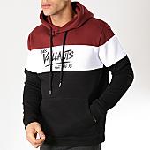 /achat-sweats-capuche/yl-sweat-capuche-vaillants-tricolore-bordeaux-blanc-noir-170279.html