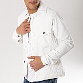 /achat-vestes-jean/classic-series-veste-jean-col-mouton-6455-blanc-170371.html