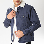 /achat-vestes/classic-series-veste-col-mouton-6476-bleu-marine-blanc-170382.html