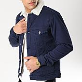 /achat-vestes/classic-series-veste-col-mouton-6475-bleu-marine-blanc-170388.html