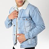 /achat-vestes-jean/classic-series-veste-jean-col-mouton-6465-blanc-bleu-wash-170399.html